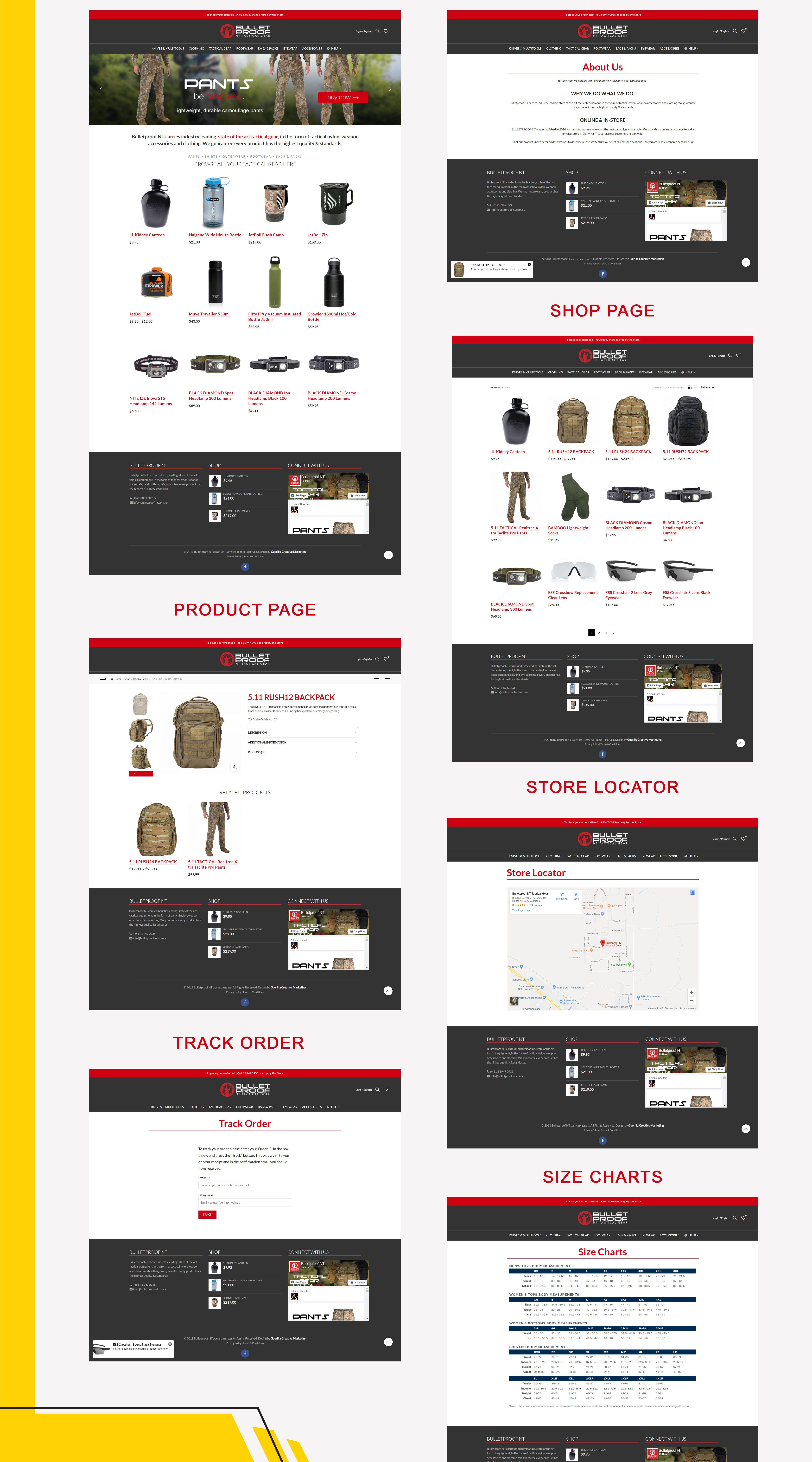 Bulletproof NT Portfolio Web Pages